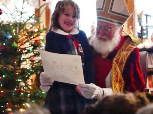 Saint Nicholas Visits IHM