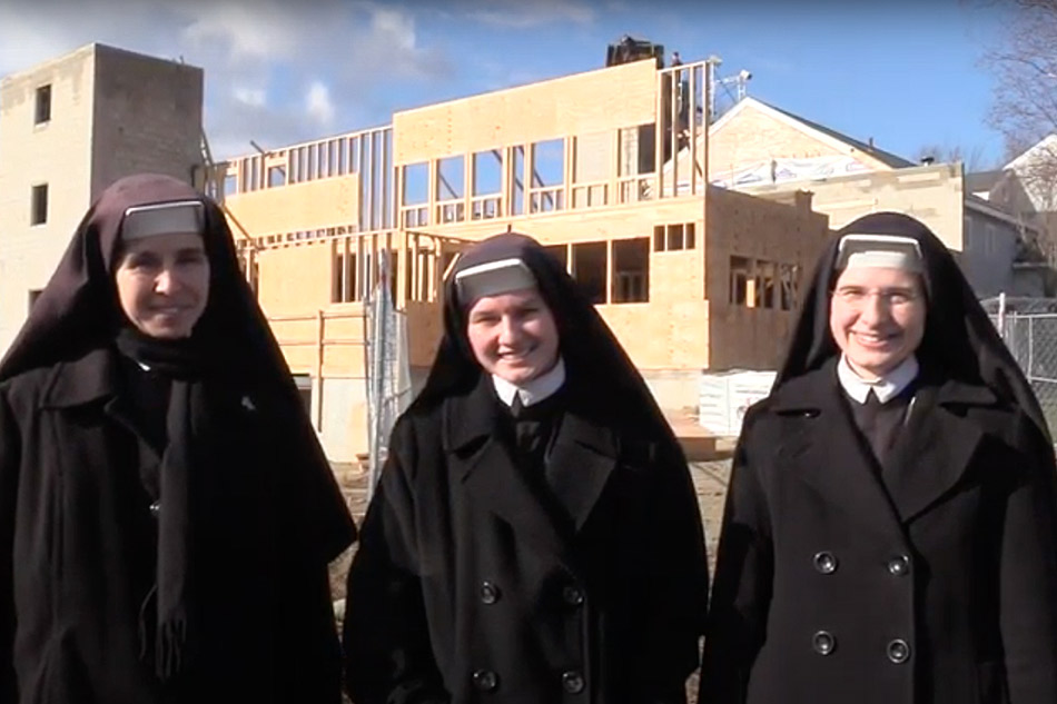 Watch the Sisters update on the School Expansion Project